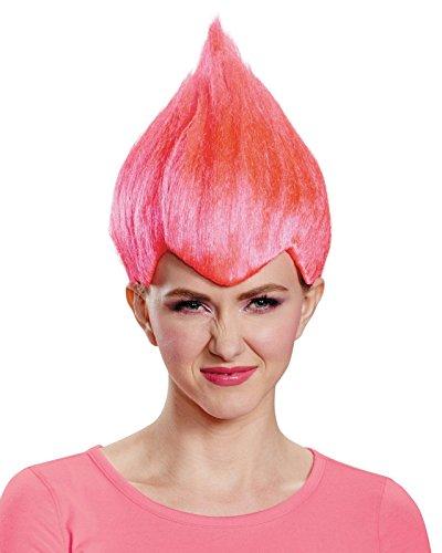 Pink Wacky Troll Doll Wig (Pink Troll)