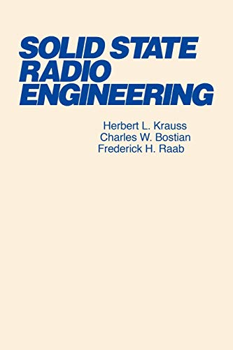 Solid State Radio Engineering (Solid State Transmitter)