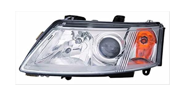 Unknown OE Replacement Saab 9-3 Driver Side Headlight Assembly Composite Partslink Number SB2502109