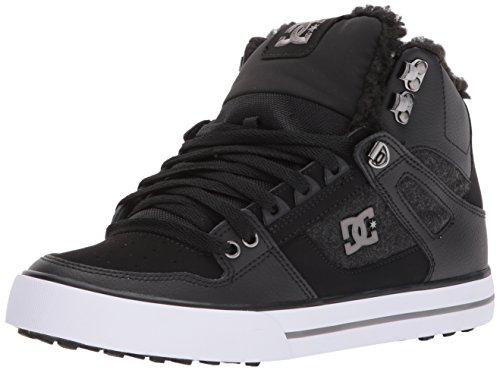 DC Shoes MenS Spartan High WC WNT Hi Top Shoes Black Armor 16