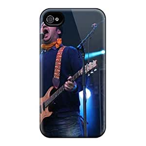 Best Hard Phone Cover For Apple Iphone 4/4s (ACu1511AIyS) Unique Design Stylish Modest Mouse Band Skin