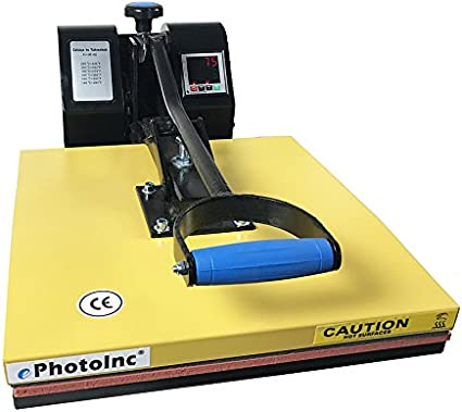 Slendor Heat Press Machine 15x15 inch Industrial Digital Heat Transfer Printing Machine Clamshell Sublimation for T Shirts