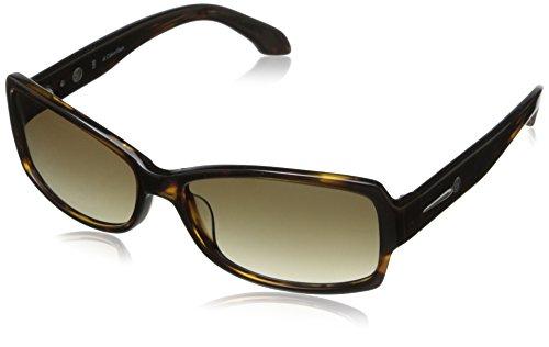 Calvin Klein CK Women's CK4189SL 001 Rectangular Sunglass...