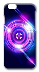 Abstract Lights Custom iphone 6 plus 5.5 inch Case Cover Polycarbonate 3D
