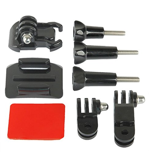 estabilizador Kit de Adaptador para GoPro Hero4//3/+//3//2//1/ /Negro Goliton Deporte C/ámara Casco Montaje Lateral