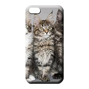 iphone 5 5s Excellent Fitted Phone Protective Stylish Cases cell phone carrying covers maine coon cat's portrait
