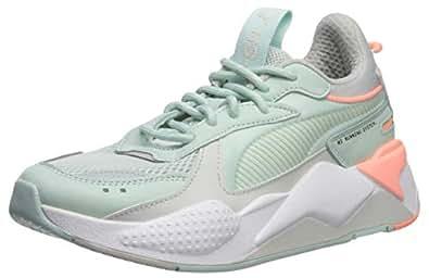 PUMA Women's RS-X Sneaker, fair Aqua-Glacier Gray, 5.5 M US