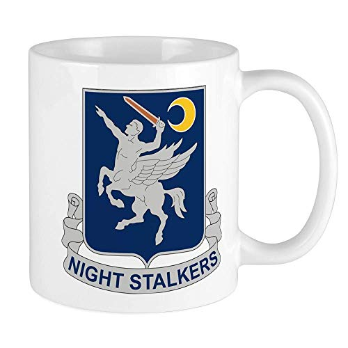 160Th Aviation Regiment - Night Stalkers Mug Ceramic 11oz Coffee/Tea Cup Gift Stocking Stuffer