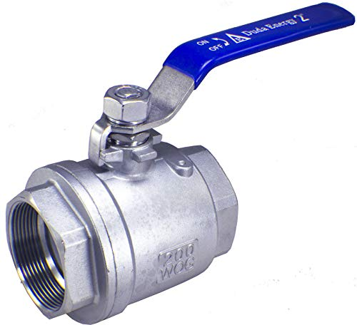 (Duda Energy 2PCBV-WOG200-F200 Full Port Ball Valve, 2