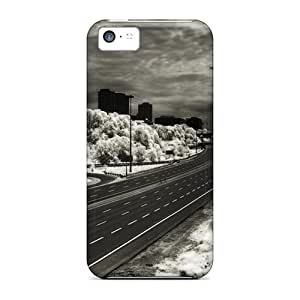 Snap-on Six Lanes Highway Case Cover Skin Compatible With Iphone 5c