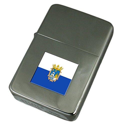 Engraved Lighter Santander City Spain Flag
