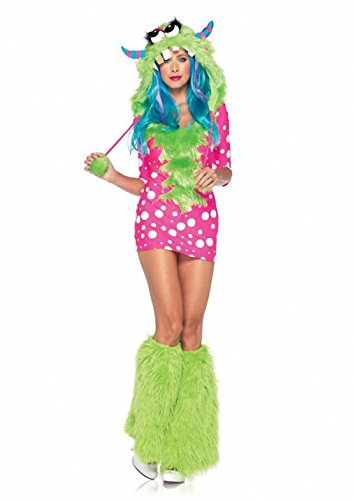 Adult Sexy Melody Monster Furry Cosplay Costume Women's Animal Theme Halloween Party Fancy Dress