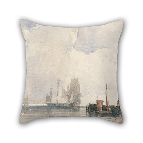 The Oil Painting Richard Parkes Bonington - Shipping In An