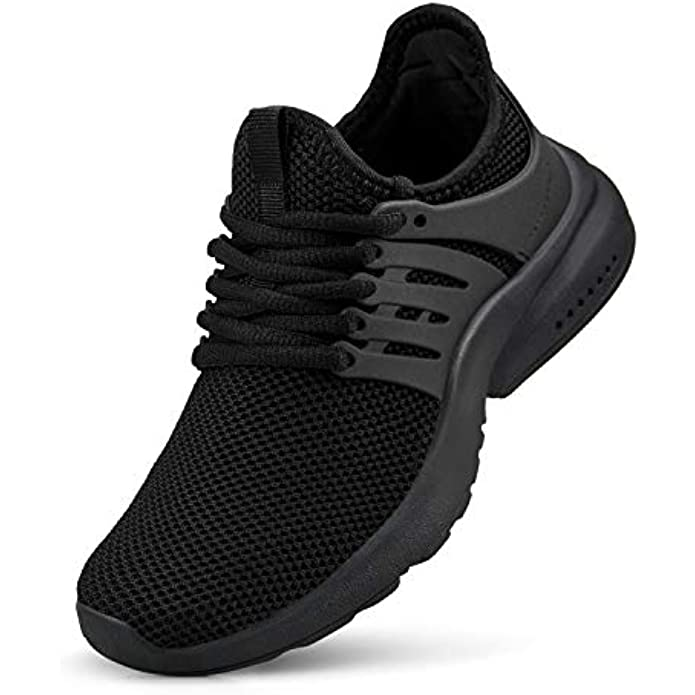 NYZNIA Boys Girls Shoes Tennis Running Lightweight Breathable Sneakers for Kids…