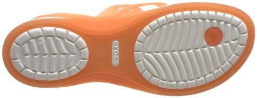 crocs Adrina Stpy 11206-43P-409 - Sandalias fashion para mujer Naranja - Pamplemousse/huître