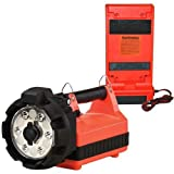 Streamlight 45665 E-Flood LiteBox High Lumen Rechargeable Floodlight with 12-Volt DC Charger and Shoulder Strap, Orange