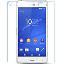 Moozy Tempered Glass Extreeme Shock Screen Protector Glass for Sony D6603 Xperia Z3, Front + Back