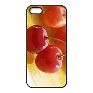 Customized case Of Cherry Hard Case for iPhone 5,5S