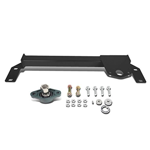 DNA Motoring BRR-006-BK Steering Box Stabilizer Bar [For 94-02 Dodge Ram ()