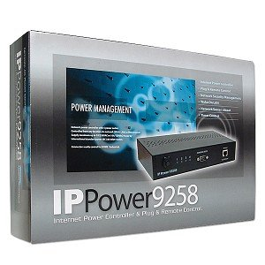 IP Power 9258T 4 Outlet Remote Network Power Web Controller w/ RS232 Port by IP Power (Image #1)