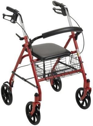 Amazon.com: MCKESSON andador de acero Durable – azul – 1 ...