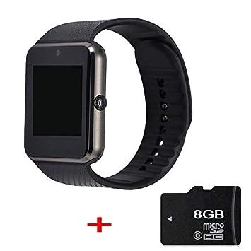 WCPZJS Reloj Bluetooth con Reloj Inteligente GT08 y Dispositivos ...