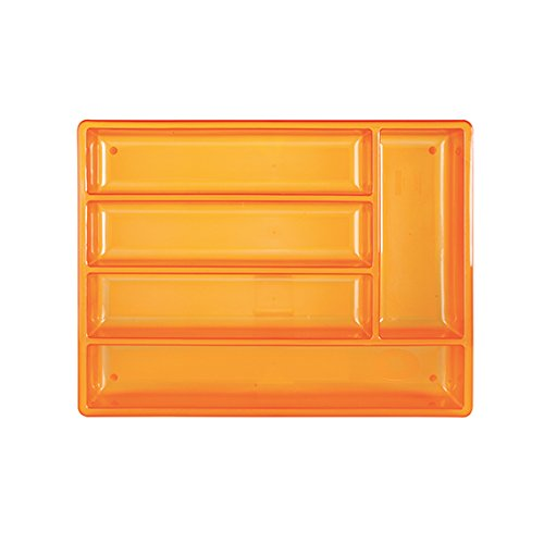 Excèlsa Rainbow Orange Cutlery Tray 38X29 cm.