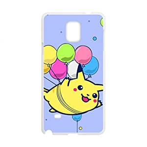 LINGH Lovely Pokemon happy Pikachu Cell Phone Case for Samsung Galaxy Note4