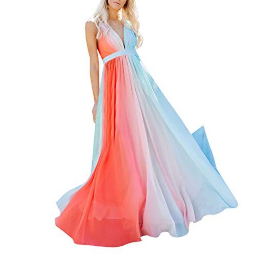 Sexy Night Dress Multi-Way Wrap Camisoles Halter Maxi Floor Long Dress High Elasticity Tie Dye Swing Tea Dresses Orange