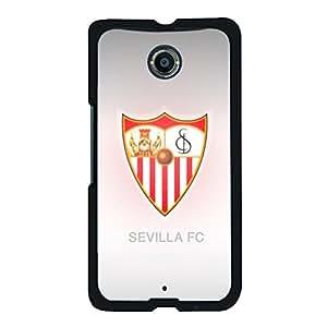 Cover Shell Sevilla FC Logo Phone Case Snap on Google Nexus 6 Prevdent Visual Sevilla Mark Skin Cover