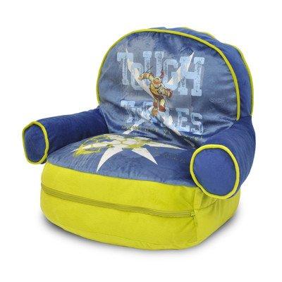 Teenage Mutant Ninja Turtles Kids Novelty Chair with Storage Compartment