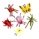 ETA hand2mind Plastic Insects and Spiders (Pack of 96)