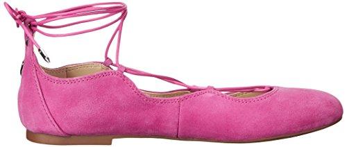 Sam Edelman Dames Flynt Ballet Plat Hot Pink Suède