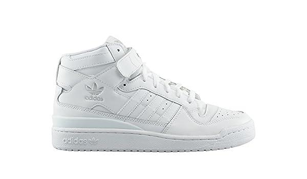 Zapatillas adidas - Forum Mid Blanco/Blanco/Blanco 46: Amazon.es ...