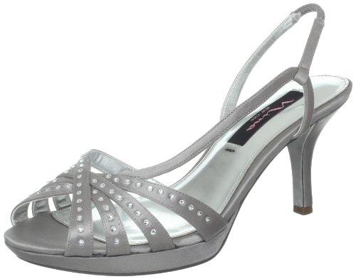 Nina Women's Claudie-YS Dress Sandal,Silver,11 M US