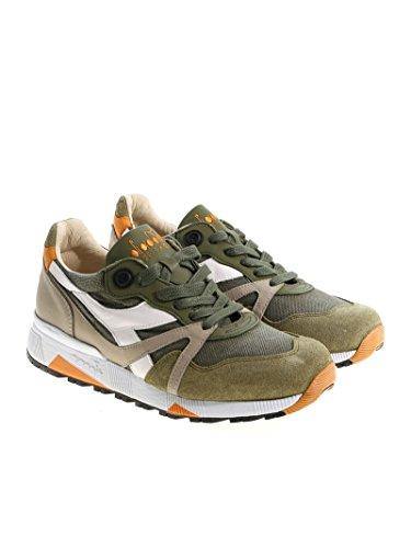 Diadora Heritage Men 17277970400 Sneakers In Fibre Sintetiche Verdi