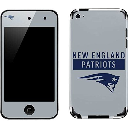 Skinit NFL New England Patriots iPod Touch (4th Gen) Skin - New England Patriots Grey Performance Series Design - Ultra Thin, Lightweight Vinyl Decal Protection