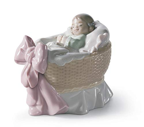 Lladro A New Treasure Girl Porcelain Figurine, 01006977