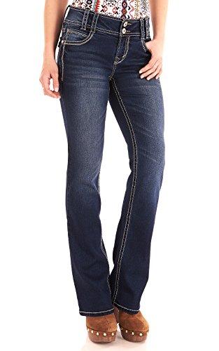 Blue 2 Bootcut Jeans - 2