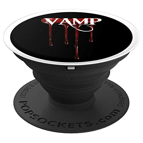 Vampire Halloween Bat Fangs Vamp - PopSockets Grip and Stand for Phones and Tablets