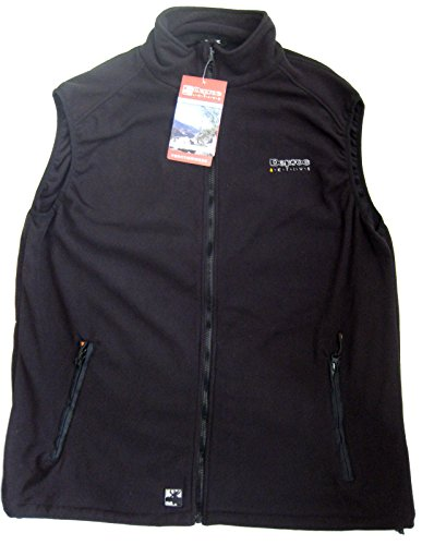 DEPROC active FLEECE Men Weste, schwarz, XXL