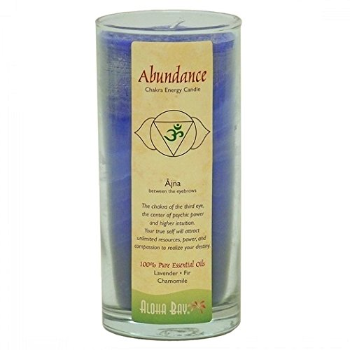 Aloha Bay Chakra Candle Jar, Abundance 285460