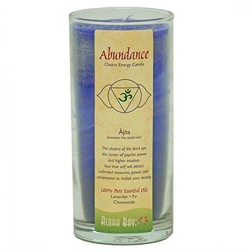 Aloha Bay Chakra Candle Jar, - Online Brands Bay