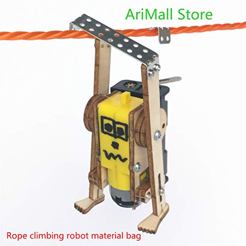 AYUNYUN Hydraulic Mechanical arm DIY,Materials,Mechanical Model,Rope Climbing Robot Material Bag