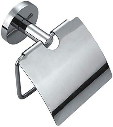 Nologo LZP-PP Serviettenhalter for Tisch Bad-Accessoires, Covered große runde Edelstahl-304 Papierhandtuchhalter Toilettenpapierrollenhalter