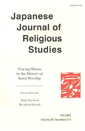 Japanese Journal of Religious Studies PDF
