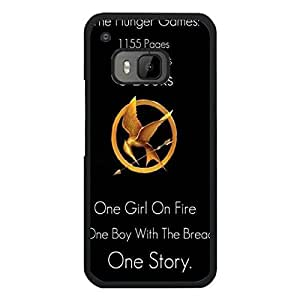 Hot Hunger Games Phone Case Cover For Htc One M9 Hunger Games Luxury Pattern