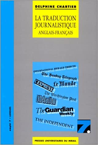 Livres gratuits La traduction journalistique anglais-français, français-anglais epub pdf