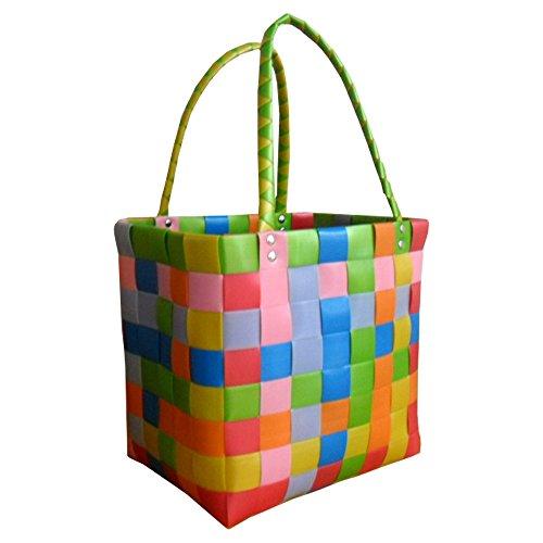 Ice-Bag World of basket , Cabas pour femme pastell 33cm x 18cm x 32cm