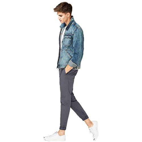 CRAVOG Herbst Winter Casual Slim Jeans-Jacke Vintage Kurzen Absatz Männer Jacken Langarm 2016 Neue Jeansjacke Jeans jacke Casual Mann Jacke Mit reißverschluss